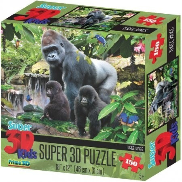 Obrázek produktu 3D Puzzle Opičí rodina 150 dílků