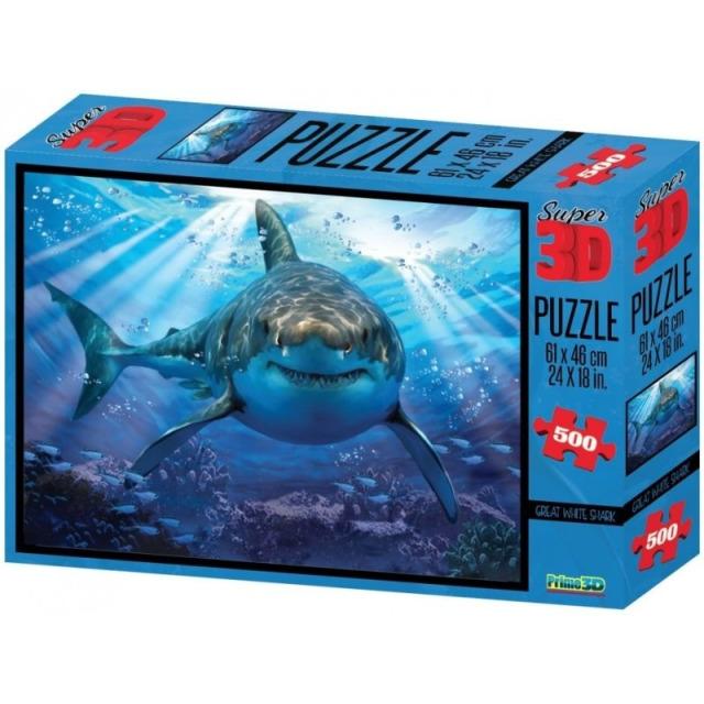 Obrázek produktu 3D Puzzle Žralok 500 dílků
