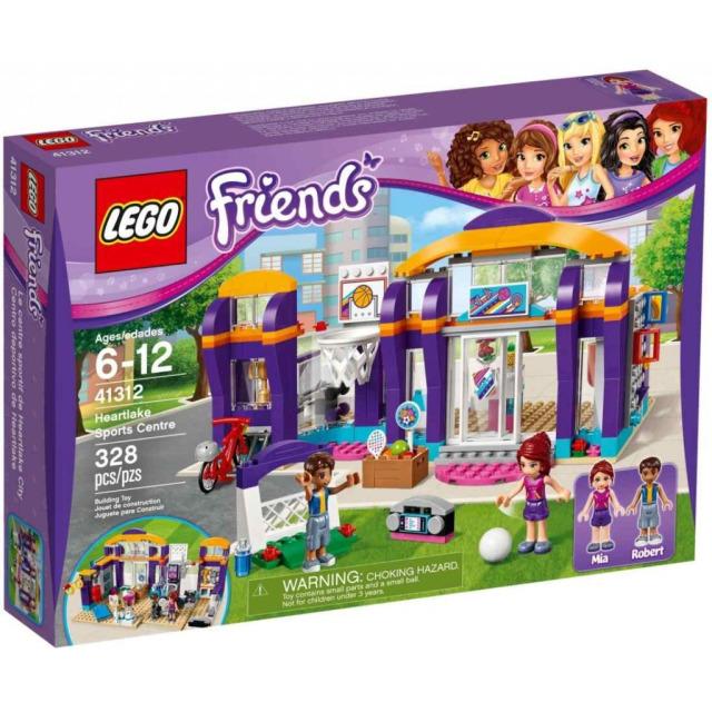 Obrázek produktu LEGO Friends 41312 Sportovní centrum v městečku Heartlake