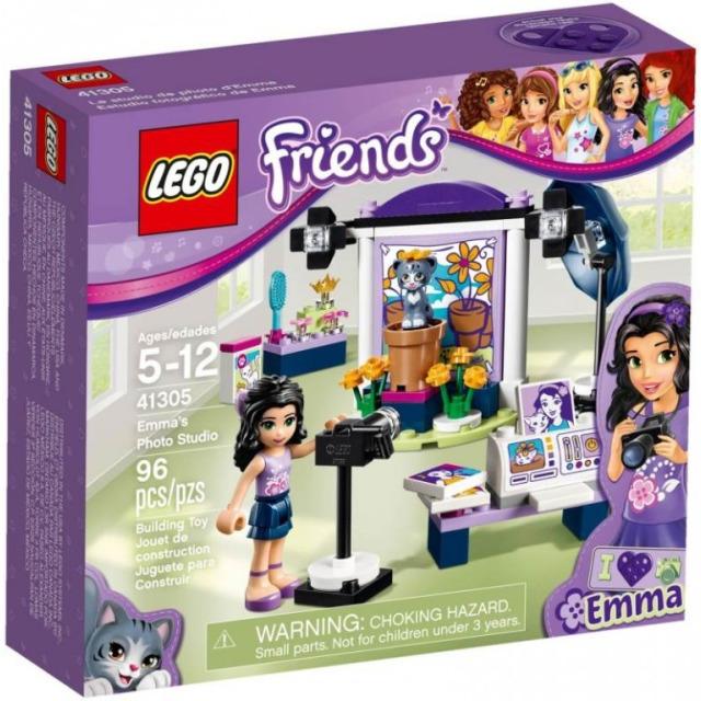Obrázek produktu LEGO Friends 41305 Emma a fotografický ateliér