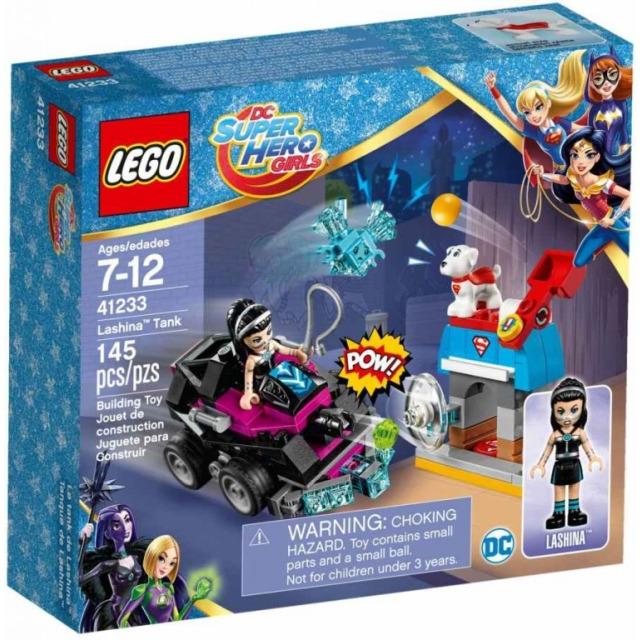 Obrázek produktu LEGO DC Super Hero Girls 41233 Lashina™ a vozidlo do akce