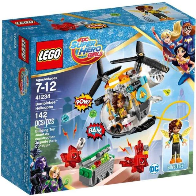 Obrázek produktu LEGO DC Super Hero Girls 41234 Bumblebee™ a helikoptéra