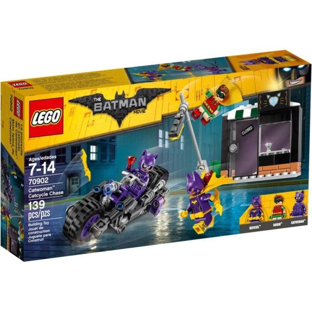 Obrázek produktu LEGO Batman Movie 70902 Catwoman™ a honička na Catcycle