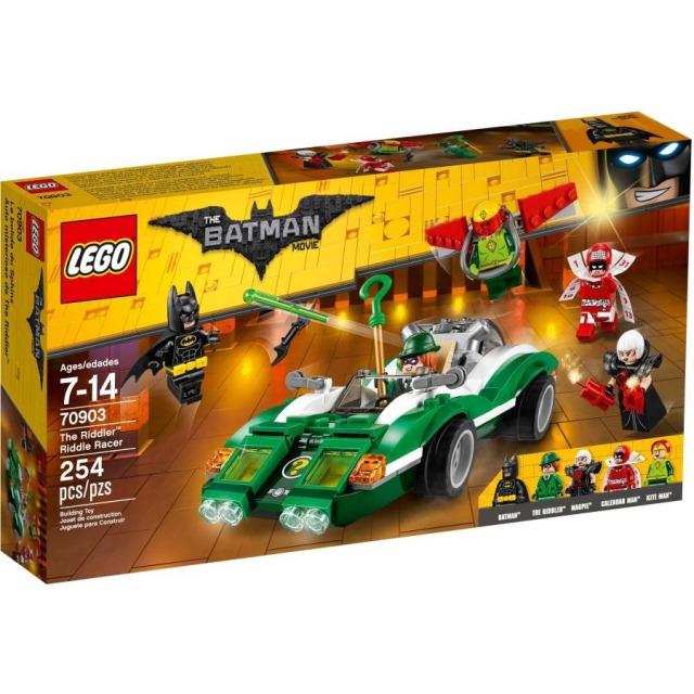 Obrázek produktu LEGO Batman Movie 70903 Hádankář a jeho vůz Riddle Racer