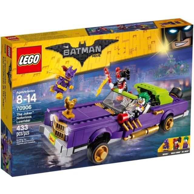Obrázek produktu LEGO Batman Movie 70906 Joker a jeho vůz Notorious Lowrider