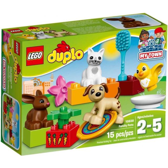 Obrázek produktu LEGO DUPLO 10838 Domácí mazlíčci