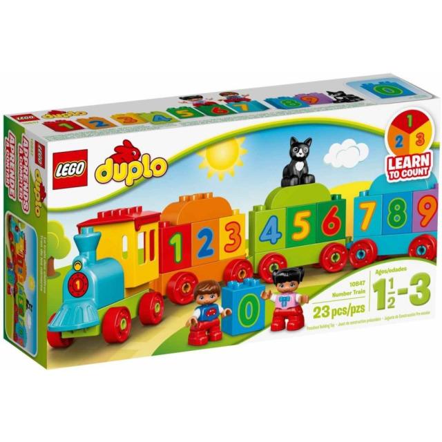 Obrázek produktu LEGO DUPLO 10847 Vláček s čísly