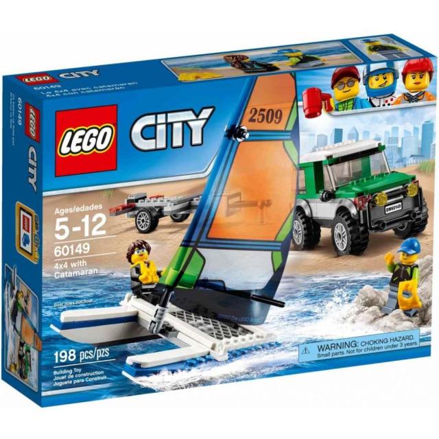 Obrázek produktu LEGO CITY 60149 4x4 s katamaránem
