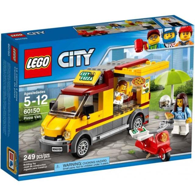 Obrázek produktu LEGO CITY 60150 Dodávka s pizzou