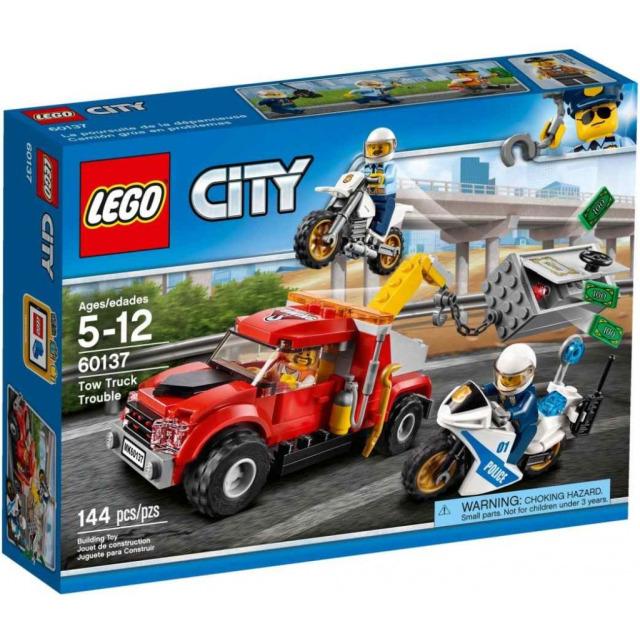 Obrázek produktu LEGO CITY 60137 Trable odtahového vozu