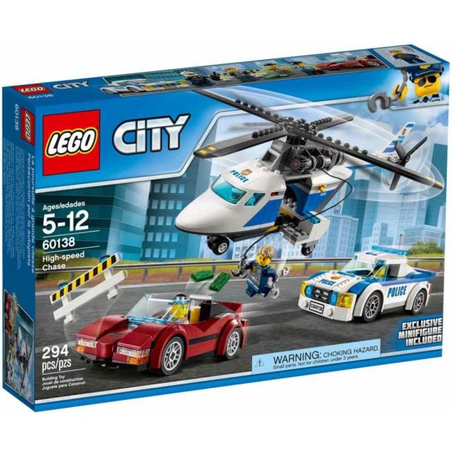 Obrázek produktu LEGO CITY 60138 Honička ve vysoké rychlosti