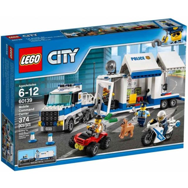 Obrázek produktu LEGO CITY 60139 Mobilní velitelské centrum