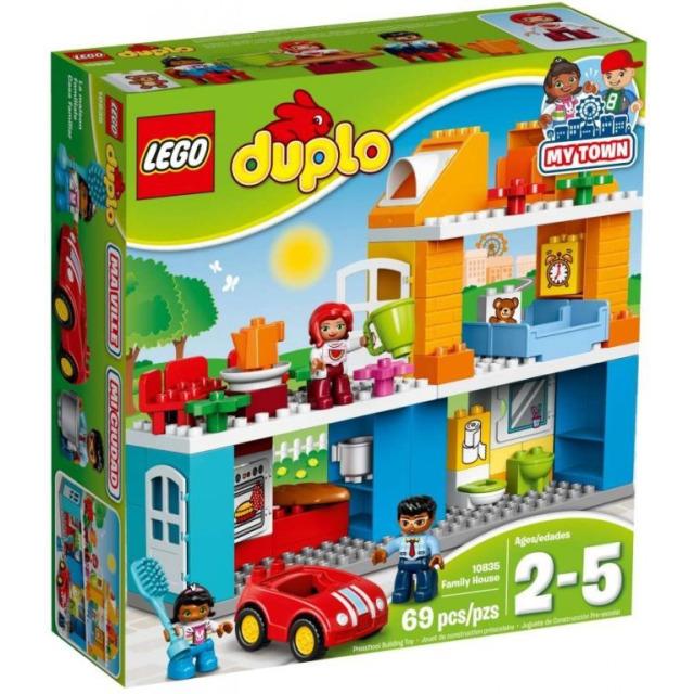 Obrázek produktu LEGO DUPLO 10835 Rodinný dům