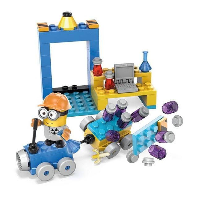 Obrázek produktu Mega Bloks Mimoňové Laboratoř s vozidlem