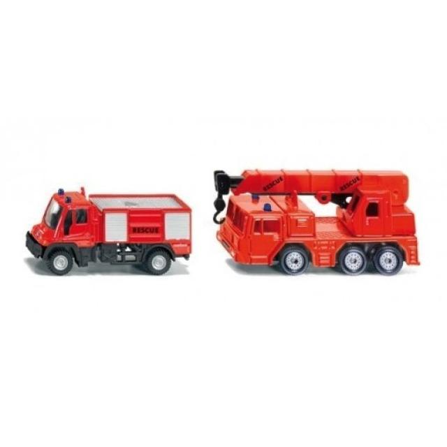 Obrázek produktu SIKU 1661 Dvě požární auta 1:87