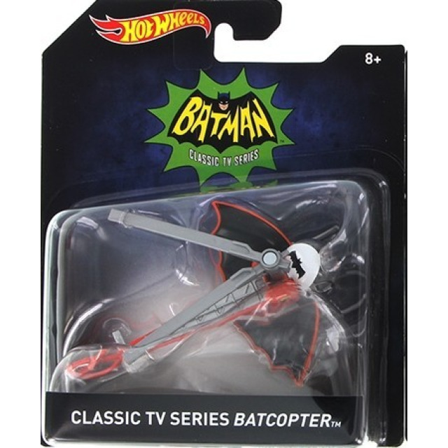 Obrázek produktu Hot Wheels prémiové auto Batman-Classic TV Series Batcopter