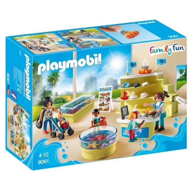 Obrázek produktu Playmobil 9061 Mořský obchod pro akvaristy