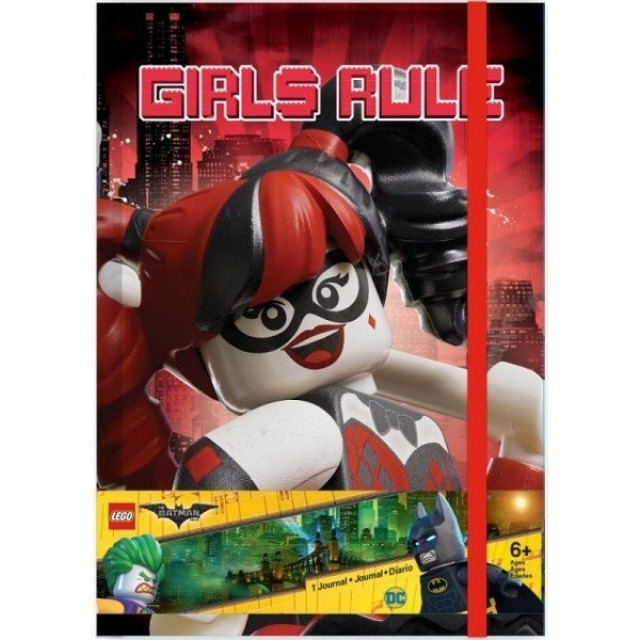 Obrázek produktu LEGO Batman Movie Zápisník Harley Quinn/Batgirl