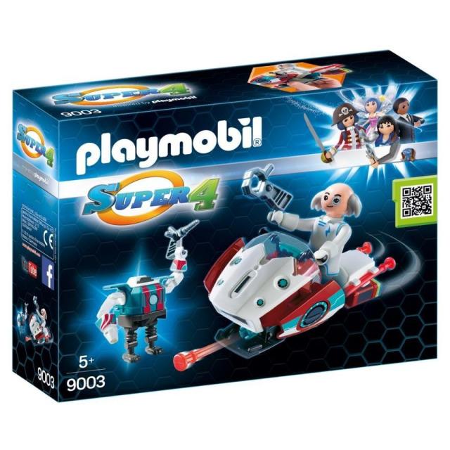 Obrázek produktu Playmobil 9003 Skyjet s Dr. X a robotem