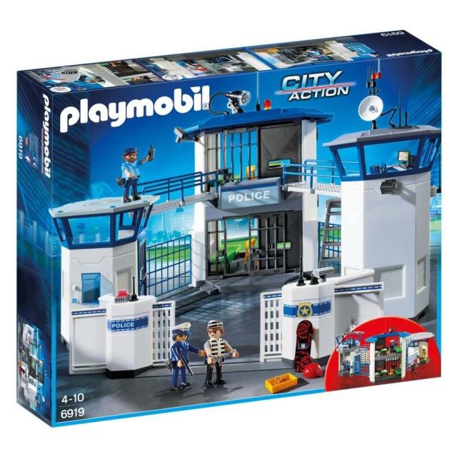 Obrázek produktu Playmobil 6919 Policejní centrála s vězením