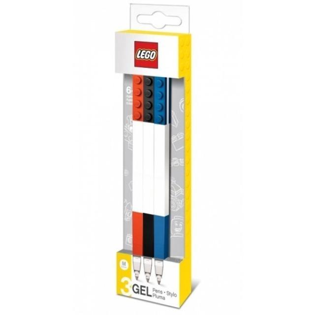 Obrázek produktu LEGO Gelová pera, mix barev - 3 ks