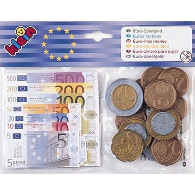 Obrázek produktu Dětské peníze Euro - bankovky a mince