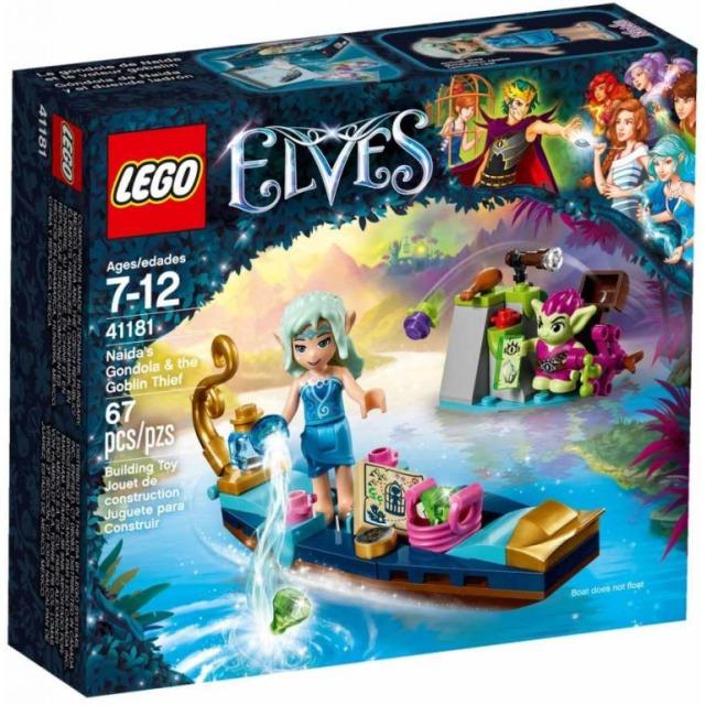 Obrázek produktu LEGO Elves 41181 Naidina gondola a skřetí zloděj