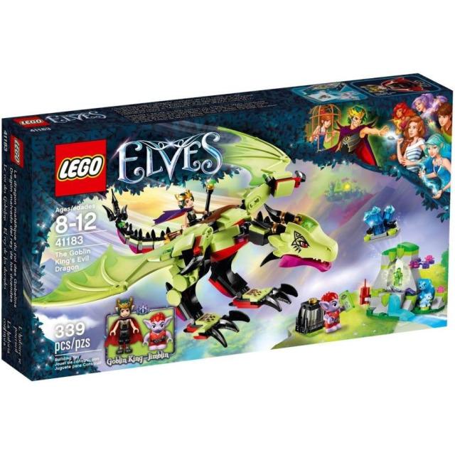 Obrázek produktu LEGO Elves 41183 Zlý drak krále skřetů