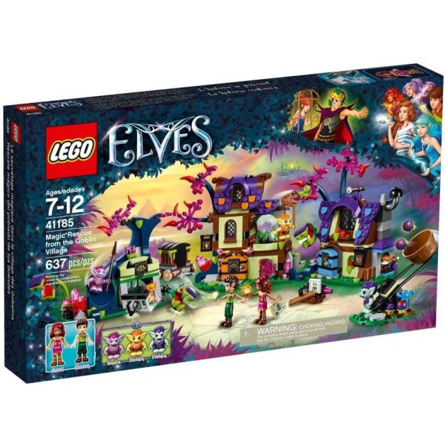 Obrázek produktu LEGO Elves 41185 Kouzelná záchrana ze skřetí vesnice
