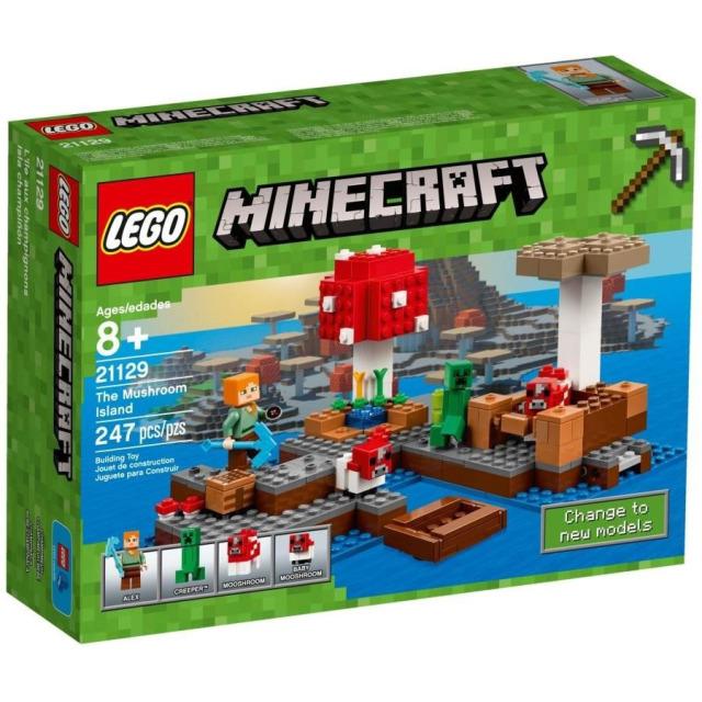 Obrázek produktu LEGO Minecraft 21129 Ostrov hub