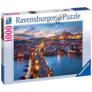 Obrázek 1 produktu Ravensburger 19740 Puzzle Praha v noci 1000 dílků