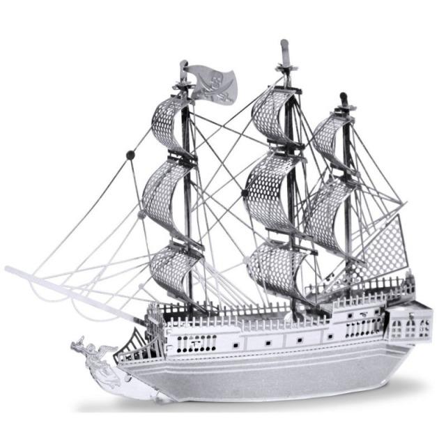 Obrázek produktu Metal Earth Black Pearl, 3D model
