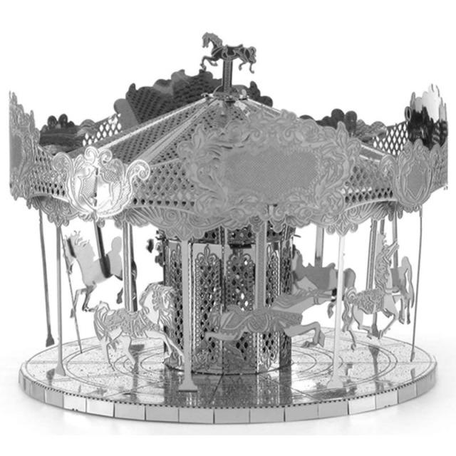 Obrázek produktu Metal Earth Merry Go Round, 3D model