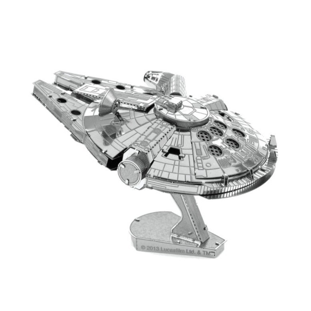 Obrázek produktu Metal Earth Star Wars Millennium Falcon, 3D model