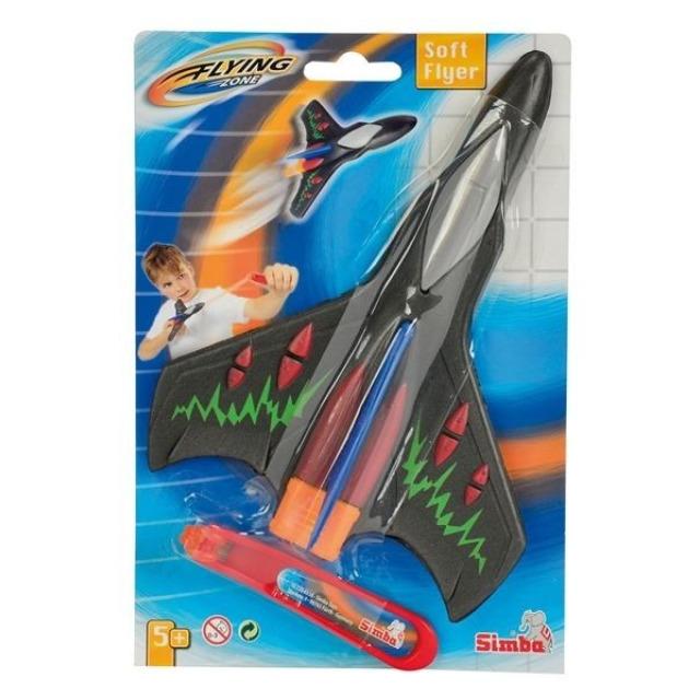 Obrázek produktu Vystřelovací letadlo 20cm, černé