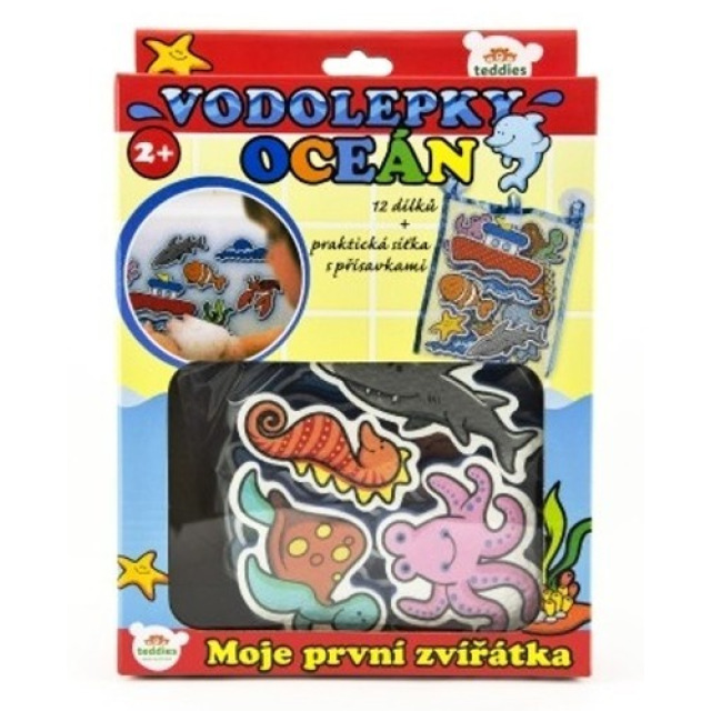 Obrázek produktu Vodolepky oceán Moje první zvířátka, 12ks