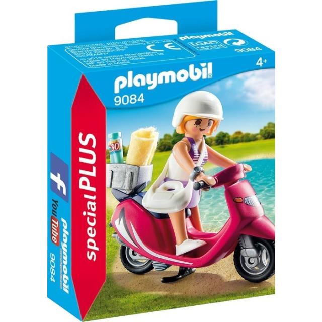 Obrázek produktu Playmobil 9084 Dívka na skútru