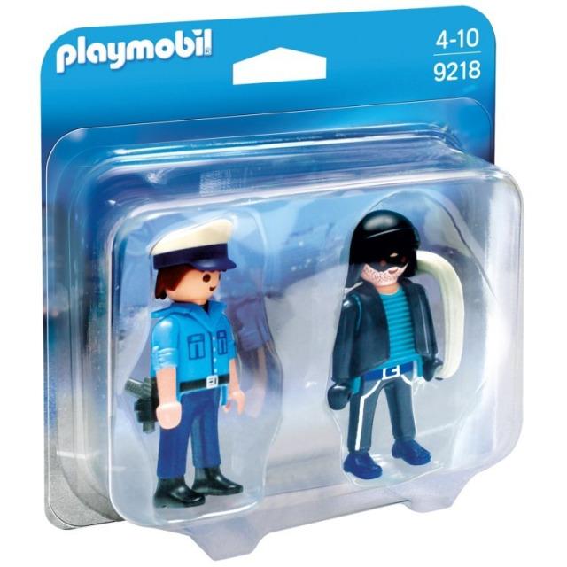 Obrázek produktu Playmobil 9218 Policista a zloděj