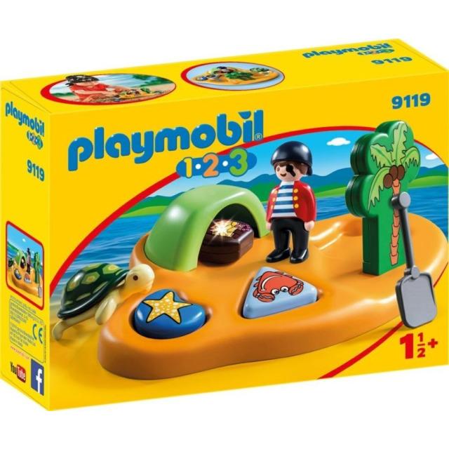 Obrázek produktu Playmobil 9119 Pirátský ostrov (1.2.3)