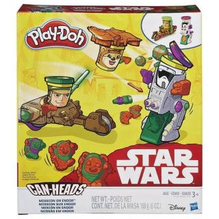 Obrázek 1 produktu Play Doh Star Wars dvojbalení vozidel Mission on Endor