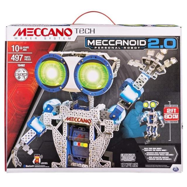 Obrázek produktu MECCANO 16402 MeccaNoid 2.0, 60 CM
