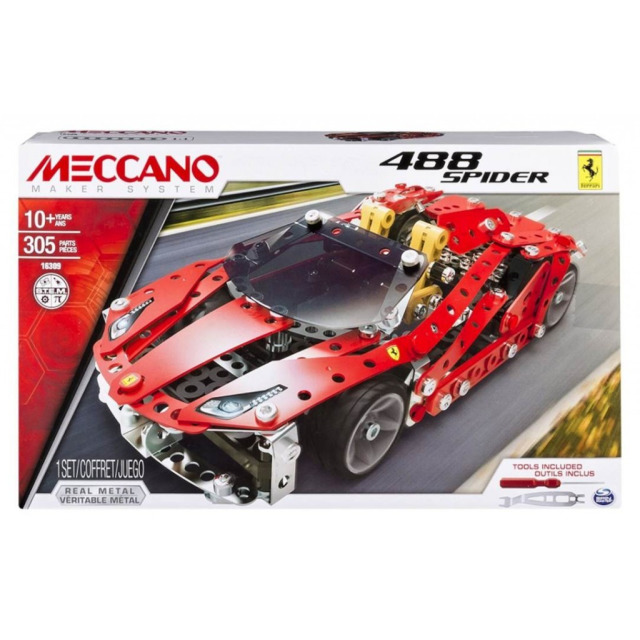 Obrázek produktu MECCANO 16309 Ferrari GTB 488 Roadster