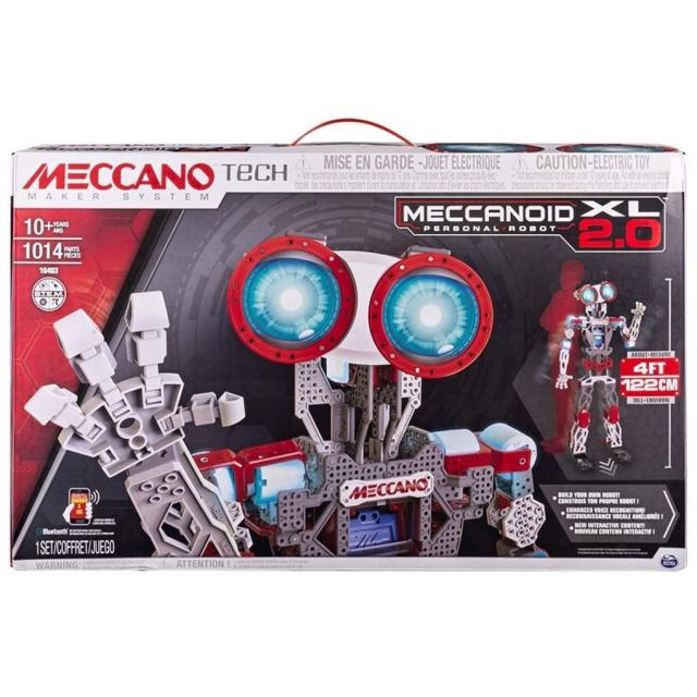 Obrázek produktu MECCANO 16403 MeccaNoid 2.0 XL, 120 CM