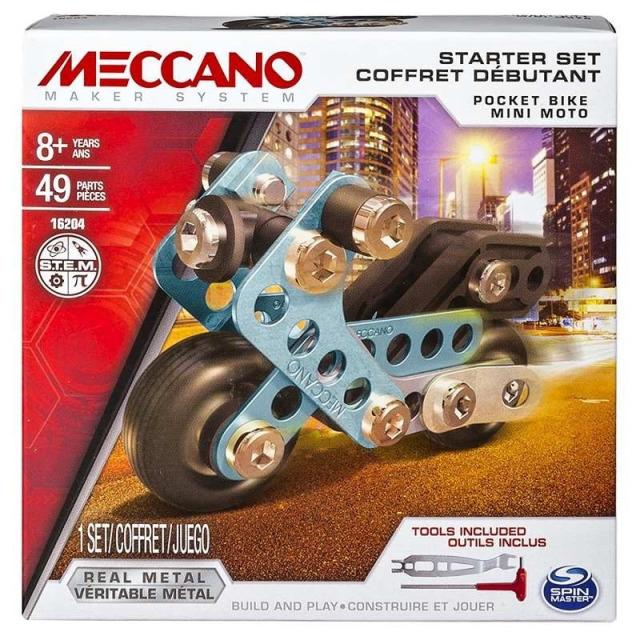 Obrázek produktu MECCANO 16204 Set pro začátečníky Mini bike