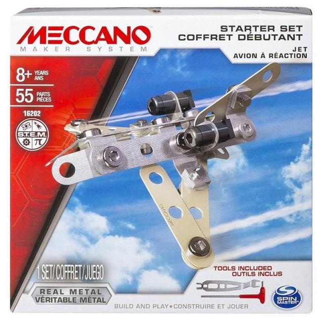 Obrázek produktu MECCANO 16202 Set pro začátečníky Letadlo