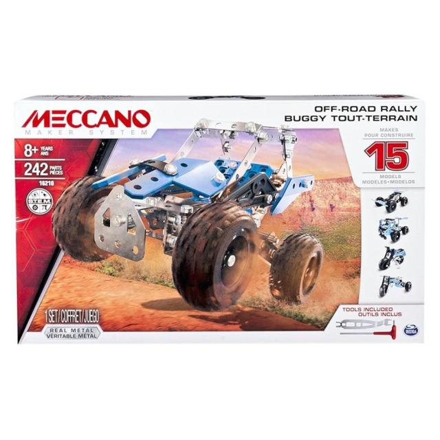 Obrázek produktu MECCANO 16210 Stavebnice 15v1 teréňáky a  motorky