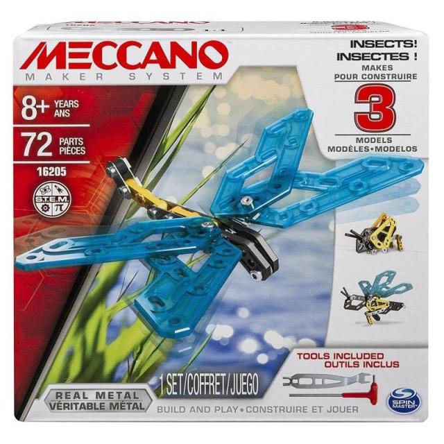 Obrázek produktu MECCANO 16205 Stavebnice 3v1 Hmyz