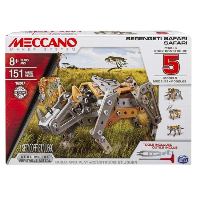 Obrázek produktu MECCANO 16207 Stavebnice 5v1 Safari