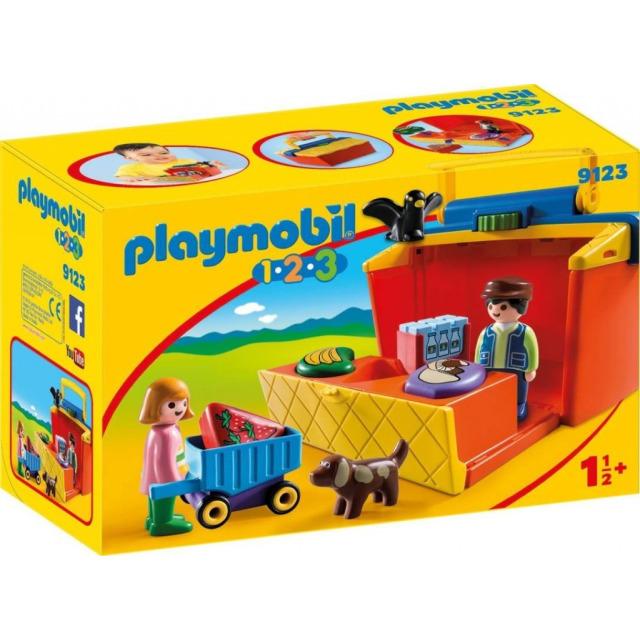 Obrázek produktu Playmobil 9123 Prodejní stánek (1.2.3)