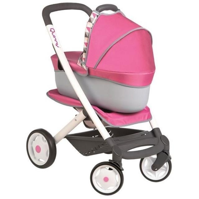 Obrázek produktu SMOBY Kombinovaný kočárek Maxi Cosi pro panenky růžový